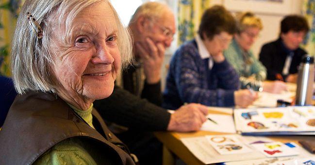 Senioren im Mehrgenerationenhaus